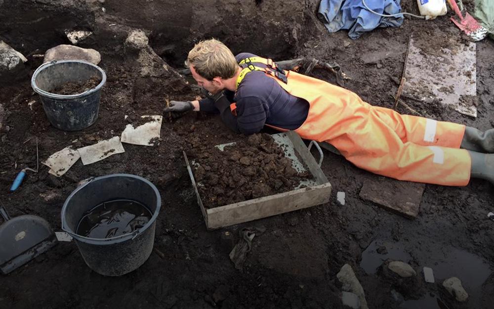 Hvor graver arkæologerne