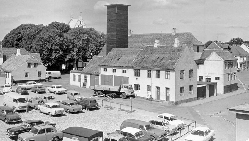 Nygade Nørregade 1969 Hjørring Vendsyssel Historiske Museum b