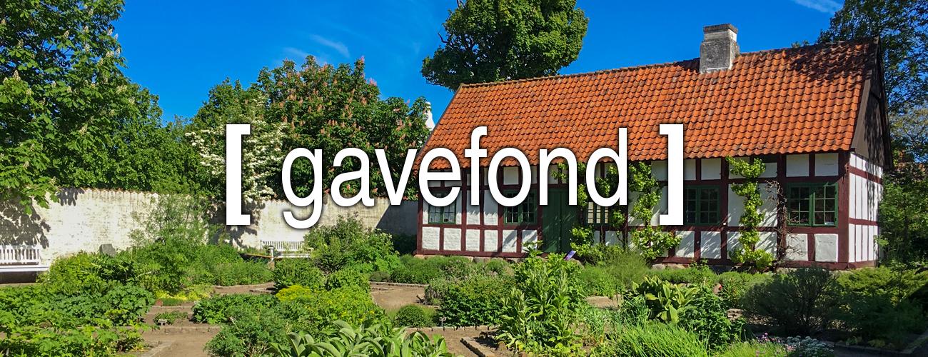 VHM Gavefond b - Vendsyssel Historiske Museum