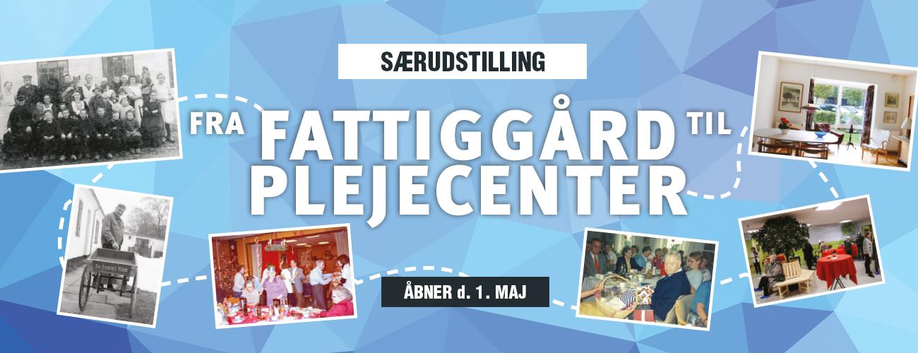 Udstillingscover - Fra Fattiggård til Plejecenter