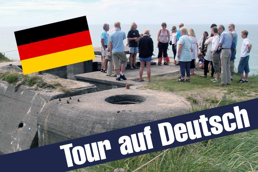 26 - Bunkeromvisning på tysk - Tour auf Deutsch - 2018