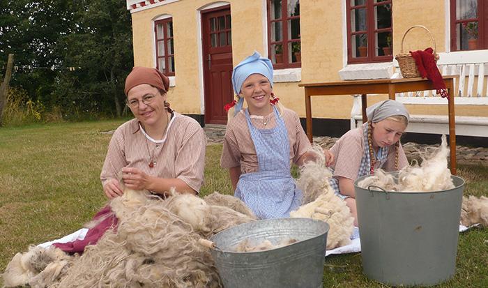 VHM Landskabs og landbrugsmuseet - Husmandsstedet sommer