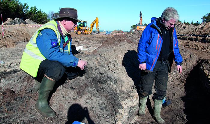 VHM arkæologi udgravning 1