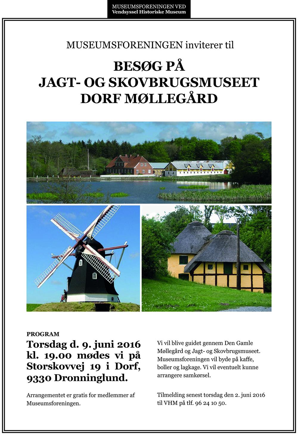 Invitation til Dorf Møllegård - Museumsforeningen