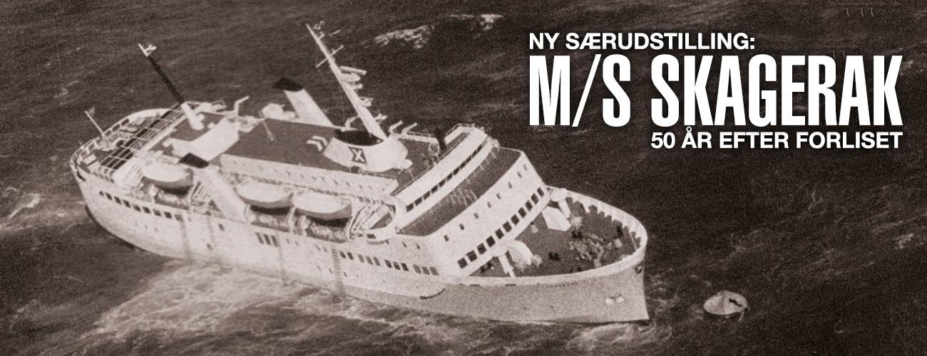 MS Skagerak - Udstilling - 50 år - Vendsyssel Historiske Museum