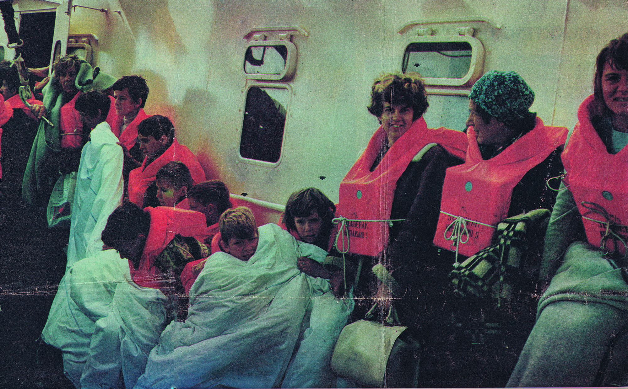 MS Skagerak - passagerer