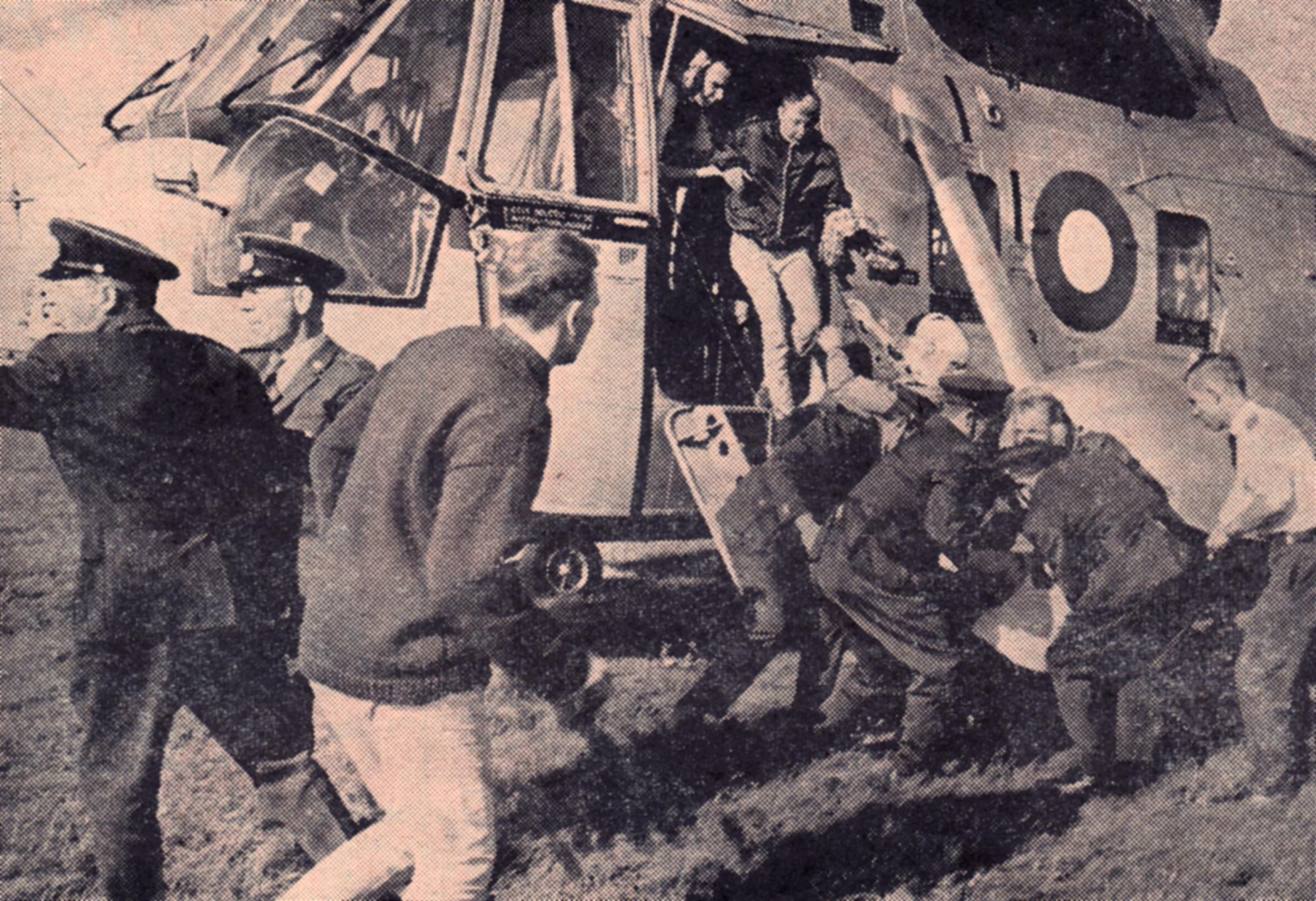 MS Skagerak - redningshelikopter