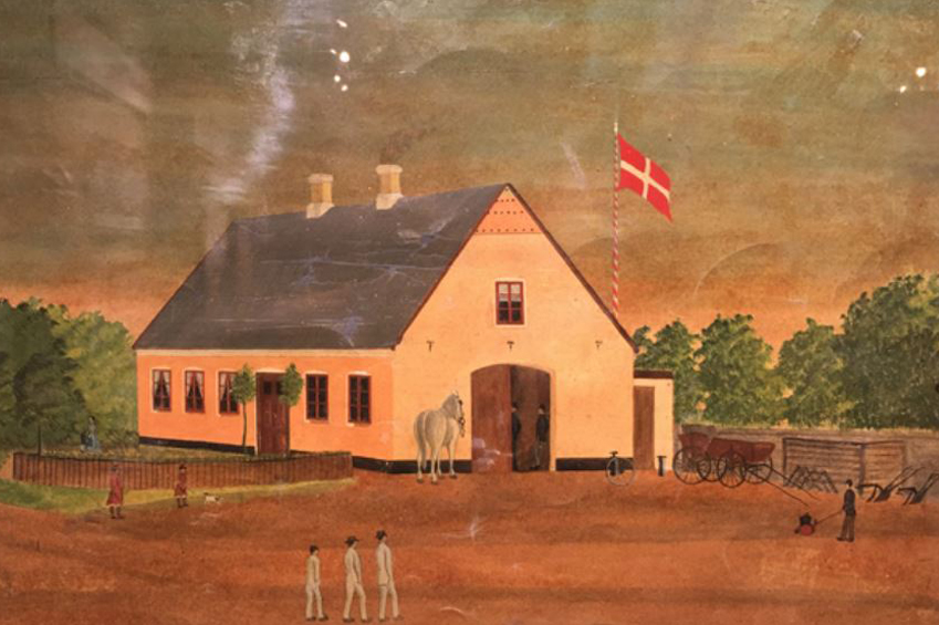 21 - Rundvisning i Gården på Væggen