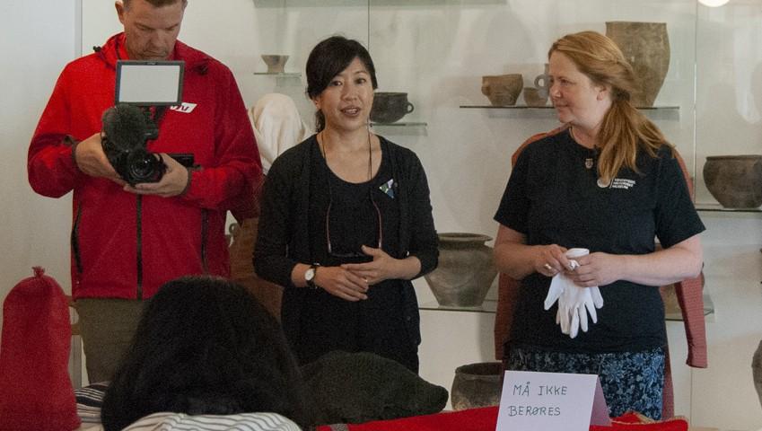 Strik på Japansk - Vendsyssel Historiske Museum - isageryarn